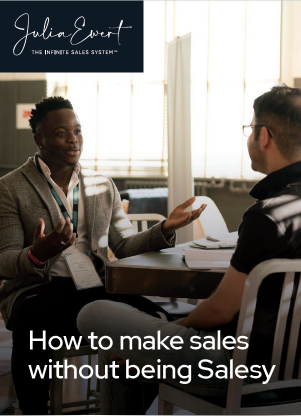 how-to-make-sales-without-being-salesy-cover-image